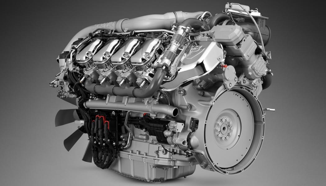 Scania actualiza sus motores V8