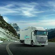 Hyundai Motor Company entrega las primeras siete unidades de su XCIENT Fuel Cell de pila de hidrógeno