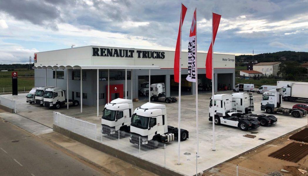 Nuevas instalaciones de Renault Trucks en Girona