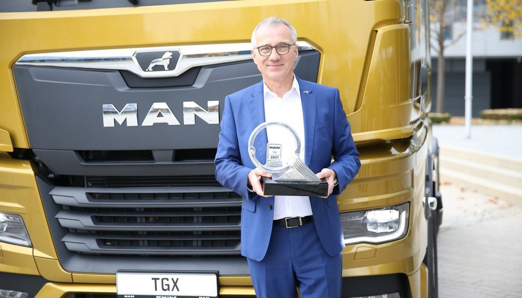 El MAN TGX es premiado como el Truck of the Year 2021