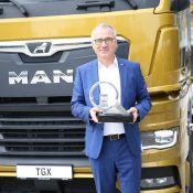 El MAN TGX es premiado como el Truck of the Year 2021