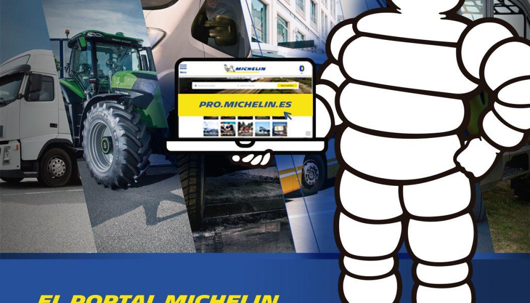 Michelin lanza su nuevo portal dedicado a los profesionales