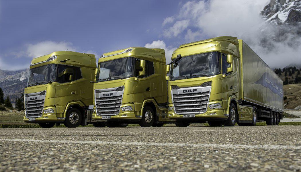 DAF anticipa el futuro con los modelos XF, XG y XG+ de la Nueva Generación