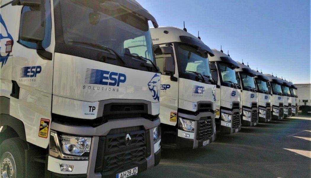 ESP Solutions renueva flota con Renault Trucks