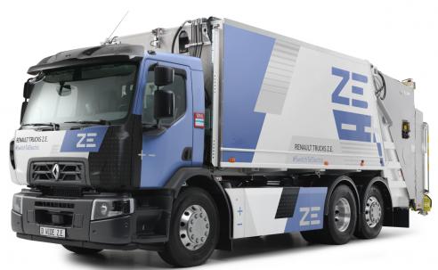 RENAULT TRUCKS lanza ZE READY