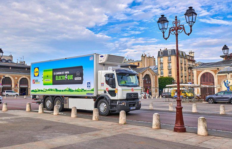 Renault Trucks sigue avanzando en materia de electromovilidad