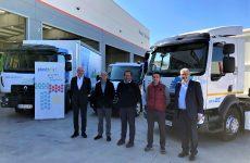 Renault Trucks entrega su primer camión pesado 100% eléctrico en Cataluña